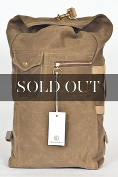 Collected Works - Military Duffle Backpack Ranger Tan