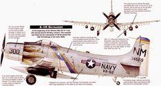 Aviones Caza y de Ataque: Douglas A-1 Skyraider