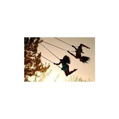 best friends on the swing pictures ❤ liked on Polyvore featuring pictures, backgrounds, people, friends, photos and fillers