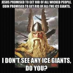 Funny pictures about Trust in Odin. Oh, and cool pics about Trust in Odin. Also, Trust in Odin. Norse Pagan, Norse Mythology, Norse Symbols, Ice Giant, Viking Quotes, Right Wing, Left Wing, The Funny, Funny Pictures