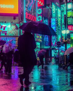 The magic Tokyo, neon lights of the streets at night captured by Liam Wong | FLOW ART STATION #LandscapeConcept #streetmagic