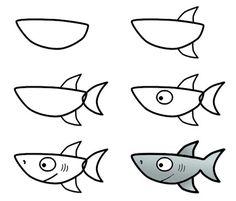 Resultado de imagen de proyecto tiburon infantil