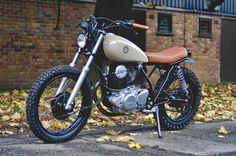 ♠Milchapitas-Kustom Bikes♠: Yamaha SR250 By Auto Fabrica