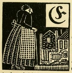 Illustrated initials from a German fairytale book (1919) | The Public Domain Review