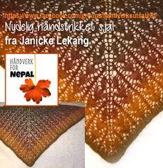 Janicke gir det vakreste sjalet til håndverke i Nepal