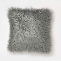 Bring dimension and texture to your space with the Mongolian Faux Fur pillow. This fluffy pillow creates chic yet cozy ambiance. Mongolian Faux Fur is on trend and will instantly add a glamorous touch to your room. Velvet Tufted Headboard, Studded Headboard, Cushion Headboard, Fur Pillow, Pillow Room, Dorm Pillows, Skull Pillow, Kids Pillows, Throw Pillows