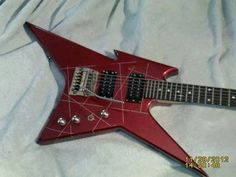 BC Rich NJ Series Ironbird with a Kahler!