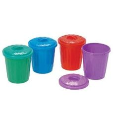 Garbage Can Holders for Trash Pack party favors