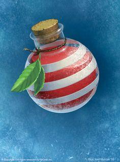 Peppermint Potion by joelhustak.deviantart.com on @DeviantArt