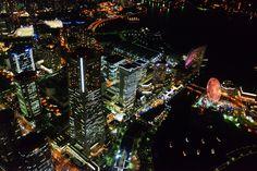 スカイクルーズ 横浜 みなとみらい 夜景