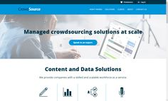 ​Crowdsource specializes in providing companies with a skilled and scalable workforce. With a large hub of human resources, the website is designed to. Work From Home Opportunities, Work From Home Jobs, Freelance Marketplace, Transcription, Copywriting, Human Resources, Freelance Websites, It Works, Education