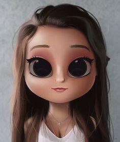 110 Best Big Eye Cartoons Images Cute Girl Drawing Cute Cartoon Girl Girl Cartoon