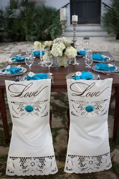 Hand painted Chiavari chair covers www.tablescapesbydesign.com https://www.facebook.com/pages/Tablescapes-By-Design/129811416695