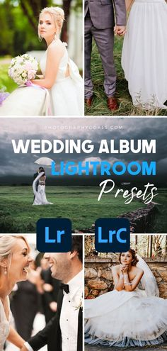 Create a professional and consistent look for your wedding photos with these high-quality Lightroom Presets. The Wedding Album presets from Photography Goals gives you 9 different looks so that no matter what type of wedding you're shooting, you can find create results that they'll love. These presets will work great for any portrait images too! Wedding Album, Wedding Photos, Lightroom Presets For Portraits, Wedding Presets, Portrait Images, What Type, Program Design, Unique Weddings, Your Photos