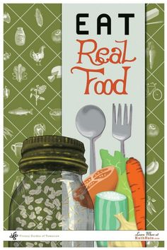 Real food won't make you fat....processed food will (even diet foods)!! Adapting to a clean eating lifestyle, and a regular exercise routine, will keep you lean and healthy! <3