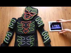HOW-TO: LED light suit costume tutorial - YouTube