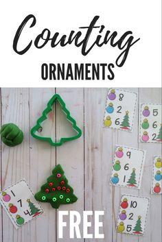 Christmas ABC Countdown- FREE- Prechool Pack