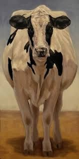 Cow Girl Holstein by denise rich Oil ~ x need this, I really do.if your listening! Cow Painting, Painting & Drawing, Art Pictures, Animal Pictures, Holstein Cows, Farm Art, Cute Cows, Cow Art, Illustrations