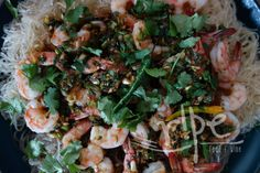 Shrimp with Thai Chiles & Ginger
