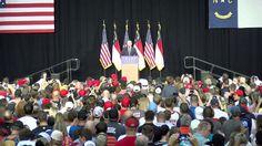 Full Speech: Gov. Mike Pence Holds Rally in Salem, VA 10/12/16