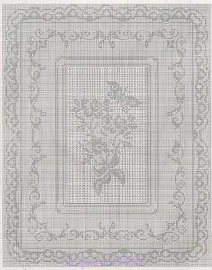lo spazio di lilla: bordi all'uncinetto