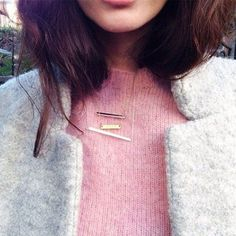 love the look of dainty necklaces