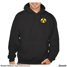 Atomic Pizza Hooded Sweatshirt