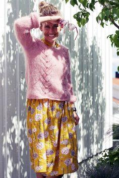 Me Naiset – Blogit   Kalastajan vaimo – Ohjetta vihdoin! Romantic Outfit, Hobbies And Crafts, Lace Skirt, Knit Crochet, My Style, Skirts, Clothes, Diy Ideas, Craft Ideas