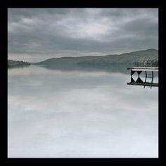 Photo of Magog Lake, Canada October 1998.