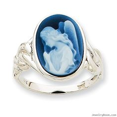 IceCarats White Gold Guardian Angel Agate Cameo Band Ring Size Stone Fine Jewelry Gift Valentine Day Set For Women Heart Cameo Jewelry, Jewelry Art, Antique Jewelry, Jewelry Rings, Jewelery, Vintage Jewelry, Fine Jewelry, Jewelry Ideas, Jewelry Making