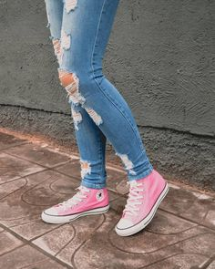 Tenis Converse, Converse All Star, Hype Shoes, Chuck Taylor Sneakers, Chuck Taylors, Casual Looks, Sneakers Fashion, Kicks, My Style