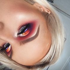 purely because you asked for a closer look  (so disappointed it turned out blurry  i'm sorry) ————————————————————————— #Clinique beyond perfecting foundation 'GOLDEN NEUTRAL' @maccosmeticsaustralia pro longwear concealer 'NC20' @tartecosmetics shape tape 'LIGHT SAND' @anastasiabeverlyhills LOVE LETTER @sugarpill POISON PLUM, BUTTERCUPCAKE, FLAMEPOINT, SUBURBIA, TAKO @morphebrushes 3502 palette 'FIRE' @peachesmakeup pigment 'PIXIE' @gemmaisabellamakeup BELLA lash @thebalm_cosmetics schwin...