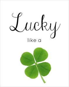 St. Patricks Day and Spring Printables - Mom 4 Real