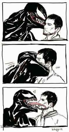 30 Fan art of Venom and Eddie Brock's relationship