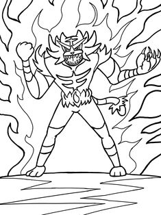 Pokemon Incineroar Coloring Pages Through The Thousands Of Pictures On Line About Choices Top Selections With
