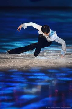 Yuzuru Hanyu New Years on Ice 2016 Hydroblade Final Time Traveler