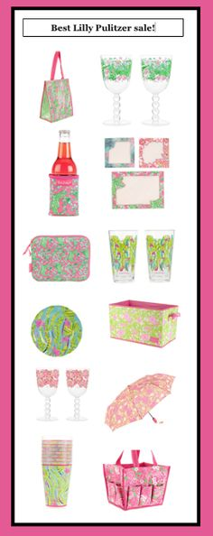 Lilly Pulitzer gifts, most about $20