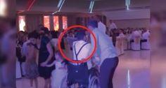 Il est paralysé depuis un accident de voiture, mais au mariage de sa sœur, il a surpris tout le monde...