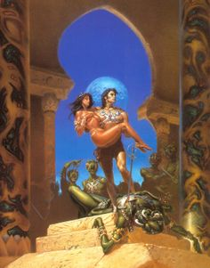 A Princess of Mars - Michael Whelan