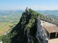 """Stupendous views across to the second and third towers - """"San Marino – more than just #78"""" by @Keith Jenkins"""