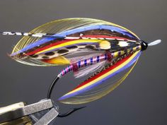 I started tying trout flies after I attended a fishing show in Portland, Oregon, in the Gradually I gravitated to the Steelhead and finally to the Atlantic Salmon flies, the latter becoming … Fly Fishing Lures, Steelhead Flies, Atlantic Salmon, Salmon Flies, Fly Tying Patterns, Spinning Rods, Alaska Fishing, Fly Rods, Fishing Accessories