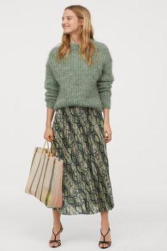 Custommade Nederdel Rie Skirt, Irish Green