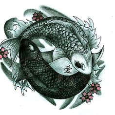 Koi fish yin and yang Avatar!!! Or this one!
