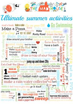 ultimate summer activities image