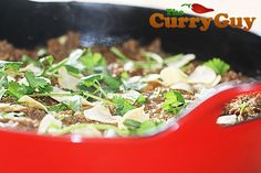This lamb keema curry recipes is quick, easy and delicious. Best selling cookbook author Dan Toombs aka The Curry Guy shares this mouthwatering recipe. Balti Recipes, Keema Curry Recipe, Best Selling Cookbooks, Garlic Paste, Garam Masala, Curry Recipes, Coriander, The Fresh, Lamb