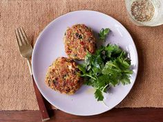 Salmon Cakes recipe from Ina Garten.  Use canned salmon and panko breadcrumbs.  Coat cakes in panko, spray with oil, and bake at 400F for 15-20 minutes or until golden.  Freezes really well.