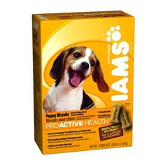 IAMS PROACTIVE HEALTH Puppy Biscuits Natural Chicken Flavor 2.6 Pounds (Pack of 6) - http://www.thepuppy.org/iams-proactive-health-puppy-biscuits-natural-chicken-flavor-2-6-pounds-pack-of-6/