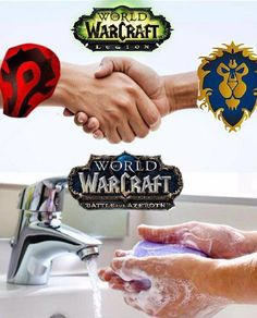 Battle for Azeroth Warcraft Funny, Warcraft 3, World Of Warcraft Wallpaper, Worlds Of Wow, Wow Meme, Warcraft Legion, Dark Tide, For The Horde, Wow World