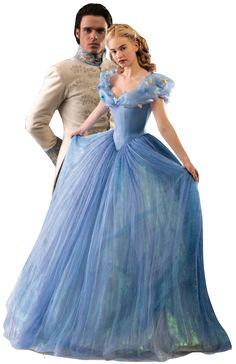 Cinderella (Ella) and Prince Kit (Prince Charming)