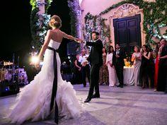 First dance at Villa del Balbianello